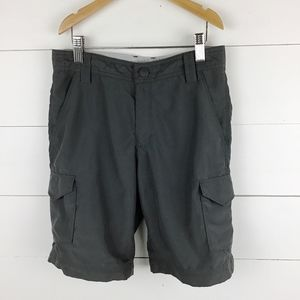 The North Face Boys M 10 12 Shorts Gray Hiking Zip
